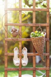 Brautschuhe von Fördy fotografiert