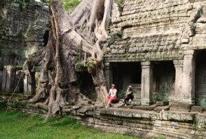Carolin und Nadine auf Ideensuche in Kambodscha