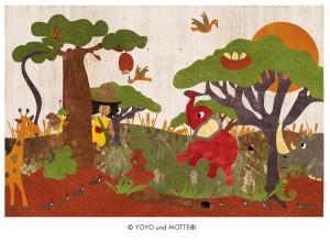 """YoYo, Motte und """"Die roten Elefanten"""""""