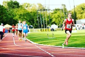 U23 Meisterschaften 2012 über 5000m, Nico siegt überlegen