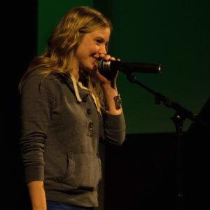 Sarah Kersting; Slam Mutanfall in Siegburg