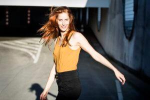Antonia Jonas; fotografiert von Bernd Brundert