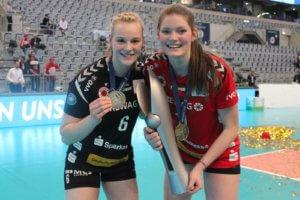 Michelle (links) und Rica Maase, Foto Dirk Michen