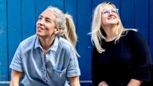 Lia (rechts) und Lexi; Foto von Boris von Wismar